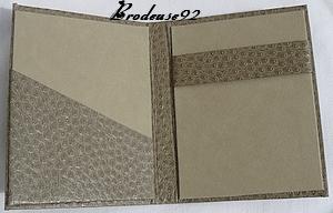 Porteblocnotes Brodeuse - Porte bloc note